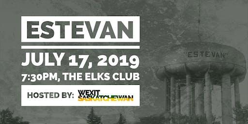 """Estevan   """"Can Confederation Be Fixed"""" Tour"""
