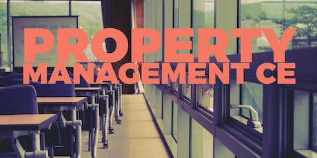 Being Accountable in Property Management CE.6171000-RE tickets