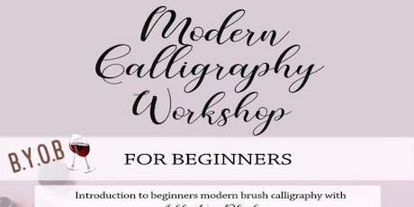 Modern Calligraphy Workshop-BYOB tickets