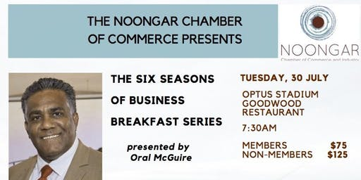 "Noongar Chamber - ""Six Seasons of Business Breakfast Series"" - Makuru"