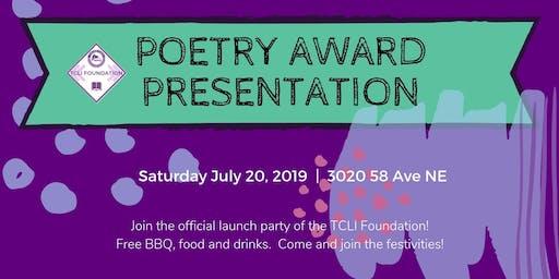Poetry Award Presentation