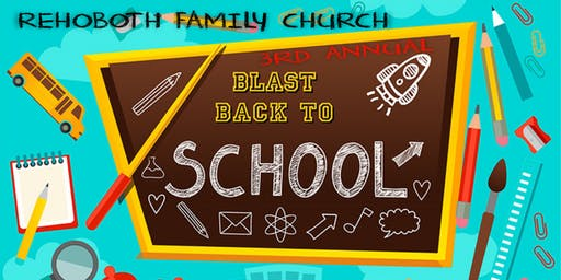 Rehoboth Back To School Bash