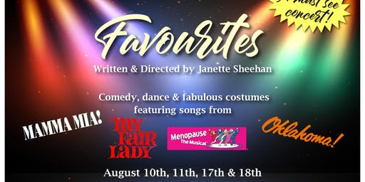 Favourites - A musical comedy theatre show