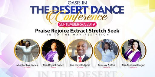 2019 OASIS IN THE DESERT - P.R.E.S.S. INTO  THE MANIFESTATION