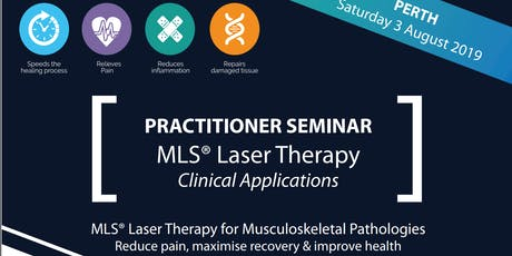 Practitioner Seminar: MLS Laser Therapy for Musculoskeletal Pathologies tickets