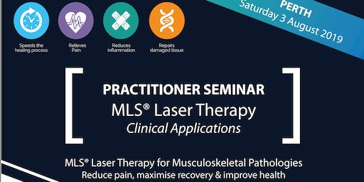Practitioner Seminar: MLS Laser Therapy for Musculoskeletal Pathologies
