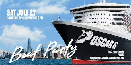 Oscar G Boat Party tickets
