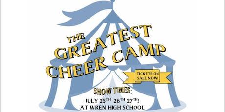 Wren Mini Canes Cheer Camp tickets
