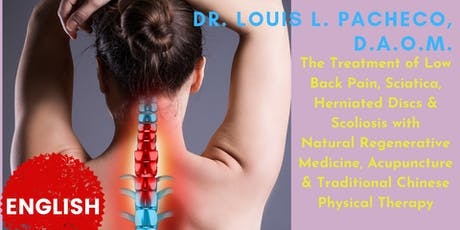 Learn how to restore your low back to health and get rid of chronic pains tickets