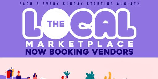 Starting Aug 4th :: The Local Marketplace @ Silo Entertainment Complex