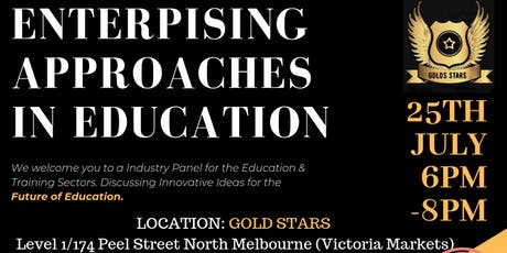 Enterprising Approaches to Education: Panel Discussion + Networking tickets