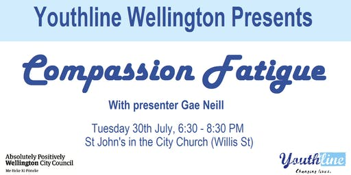 Youthline Wellington Presents: Compassion Fatigue