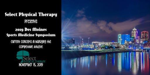 Select PT 2019 Sports Medicine Symposium