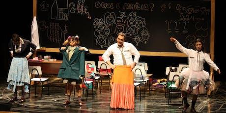 """55% de Desconto para Festival de Férias do Teatro Folha: """"É Tudo Família"""" ingressos"""