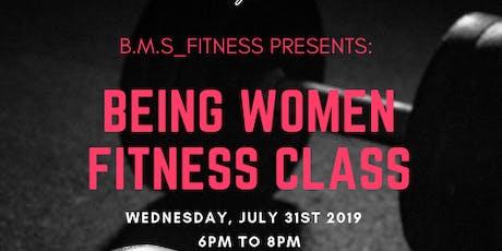 Being Women Fitness Class tickets