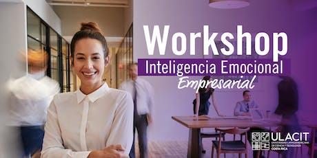 ADMISIONES: Workshop Inteligencia Emocional Empresarial tickets