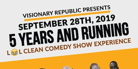 Laugh Out Loud Clean Comedy Show 5 Year Anniversary tickets