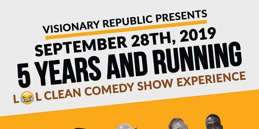 Laugh Out Loud Clean Comedy Show 5 Year Anniversary