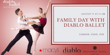 Family Day with Diablo Ballet @ Macy's Walnut Creek  tickets