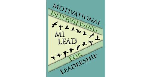 (Virtual Training) Motivational Interviewing for Leadership: MI-Lead