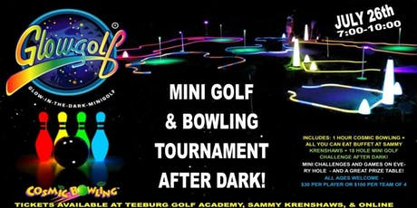 Mini Golf After Dark tickets