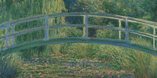 Yarra Valley Paint & Sip: The Water Lily Pond by Claude Monet