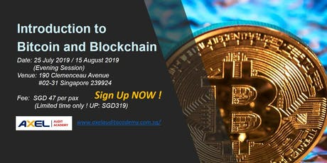 Introduction to Bitcoin and Blockchain tickets