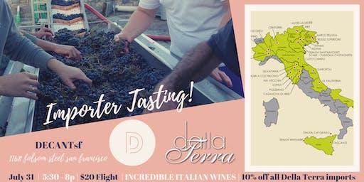 Wine Tasting Event! Italian wines from Dalla Terra Imports