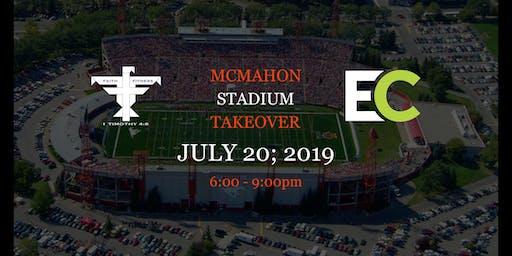 Faith&Fitness McMahon Stadium Takeover!