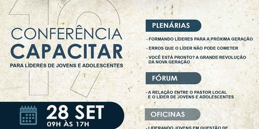 Conferencia Capacitar 2019 - Para Lideres de jovens e adolescentes