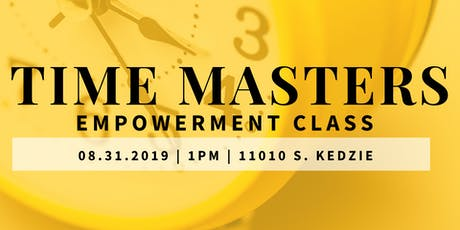 Time Masters Empowerment Class tickets