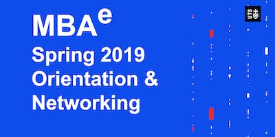 MBAe Spring Orientation and Networking