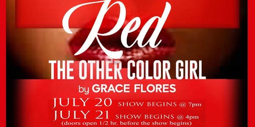 Red The Other Color Girl