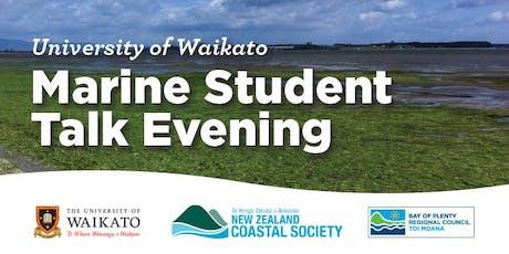 University of Waikato Student Talks Evening tickets