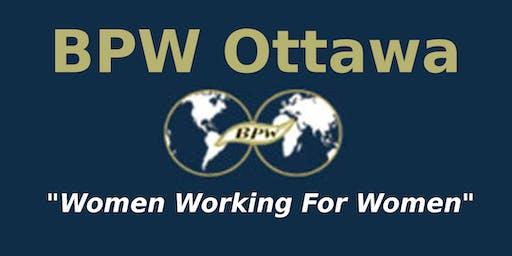 BPW Ottawa October General Meeting
