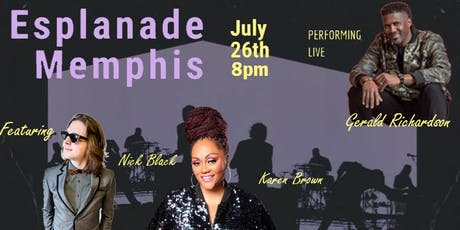 A Night with Gerald Richardson & KemUStry featuring special guests Karen Brown & Nick Black tickets