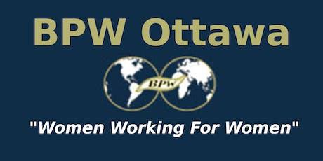 BPW Ottawa November General Meeting tickets