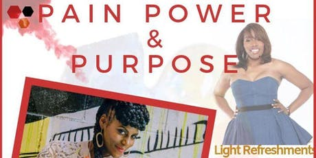 PAIN, POWER & PURPOSE ~ PAINTING WITH A TWIST PAINTING PARTY tickets