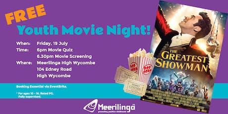 FREE Youth Movie Night at Meerilinga High Wycombe! tickets