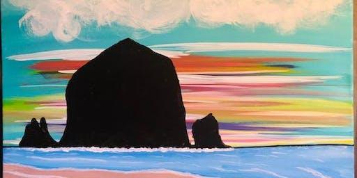 Coffee & Canvas - Dutch Bros - Dreamy Beach