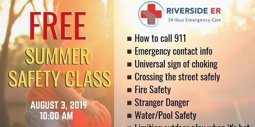 Free Summer Safety Class