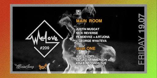WeLove #209 // BassSwag (BNE) + Krab Records
