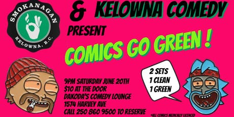 Smokanagan presents Comics Go Green tickets