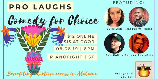 Pro-Laughs: Comedy for Choice in Alabama
