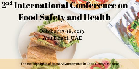2nd International Conference on Food Safety and Health tickets