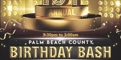 Palm beach county birthday bash