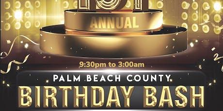 Palm beach county birthday bash tickets