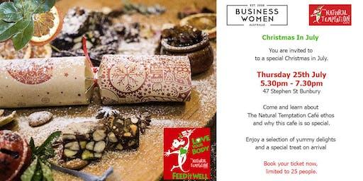 Bunbury, Business Women Australia: CHRISTMAS IN JULY