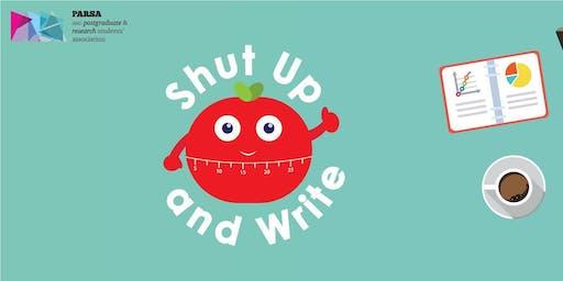 PARSA - Shut Up and Write | July 18