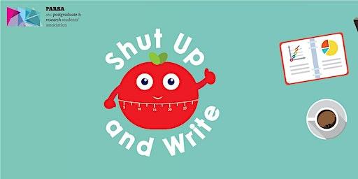 PARSA - Shut Up and Write | Dec 13